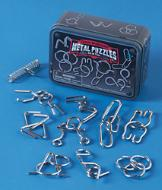 Mind-Challenging Metal Puzzles - 10-Pc. Set