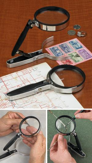Self-Standing Magnifier