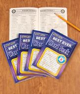 Best Ever Word Seek Puzzle Books - Set of 4