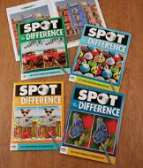 Spot the Difference Books - Set of 4