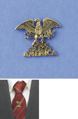 God Bless America Pin