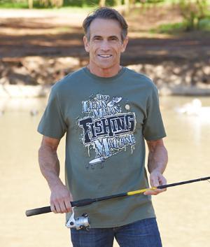 Fishing Machine Shirt - Medium
