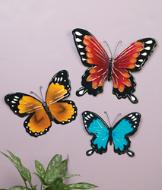 Butterfly Wall Art - 3-Pc. Set