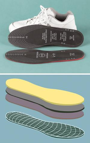 Odor Stop Insoles - A Pair