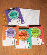 A-Maze-Ing Mazes Vol. 1-4