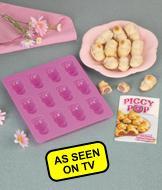 Piggy Pop Nonstick Silicone Bake Pan