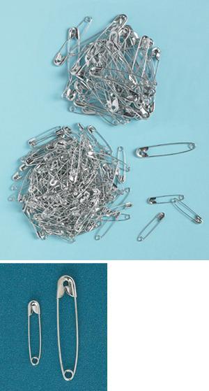 Safety Pins - 500-Pin Assortment