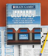 Brain Games Jeopardy! Puzzle Book