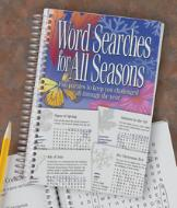 Word Searches for All Seasons Book