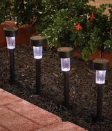 Solar Garden Lights - Set of 4