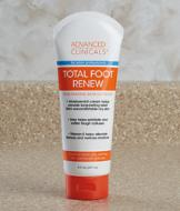 Advanced Clinicals Foot Moisturizing Cream - 8-oz.