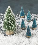 One Large Snow Tree