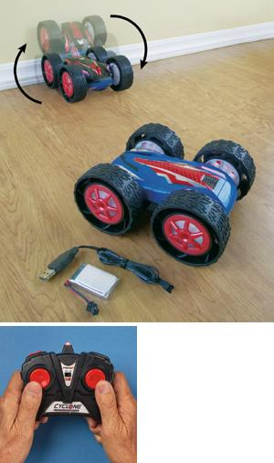 Dual-Sided RC Stunt Car