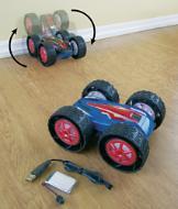 Dual-Sided RC Stunt Car