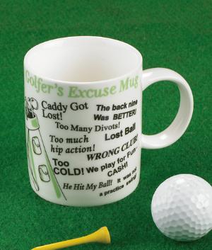 Golfer's Excuse Mug