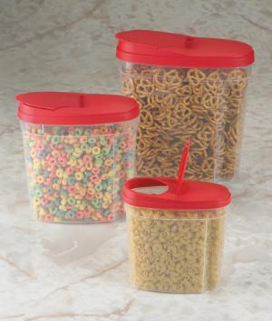 Store and Pour Canisters - Set of 3