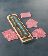Folding Cribbage Game
