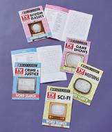 Brain Games TV Guide Word Search Books - Set of 5