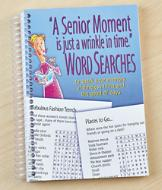 Senior Moment Word Search Book