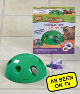 Pop N' Play Cat Toy