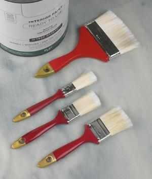 Deluxe Paintbrushes - 3-Paintbrush Set