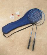 Badminton Rackets and Birdies - The Set
