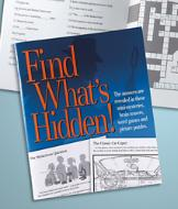 Find What's Hidden! Book
