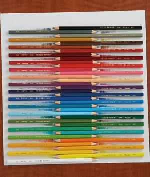 Pentel Color Pencils - Set of 36