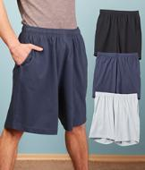 Men's Knit Lounge Shorts - Black