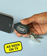 Power Pod Key Ring Phone Charger - iPhone Compatible
