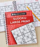 Brain Games Sudoku Large Print Puzzle Book