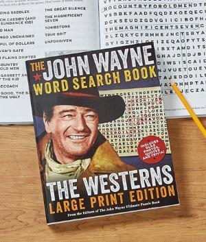 John Wayne Word Search Book