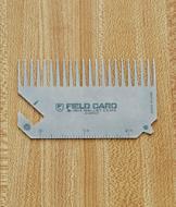 Field Card 6-in-1 Wallet Comb