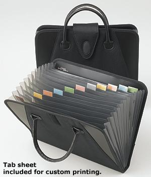 Briefcase-Style Accordion File