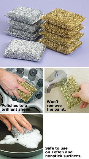 Clean Pot Luster Sponges - Set of 8