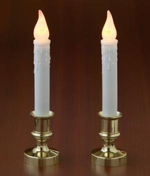 Self-Timing Flameless Candles - Set of 2