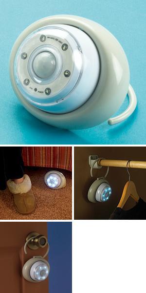 Wireless Motion-Sensor 6-LED Light