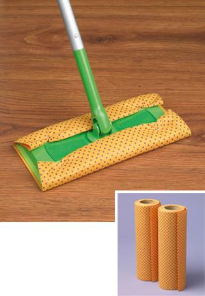Sweeper Shammy Pads - 2-Roll Pack