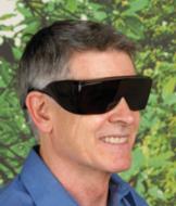 Black Wraparound Sunglasses