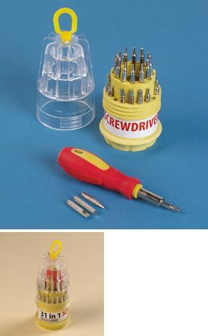 30-Bit Mini Screwdriver Set
