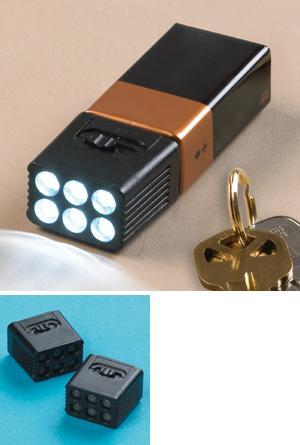 Mighty 6-LED Flashlights - Set of 2