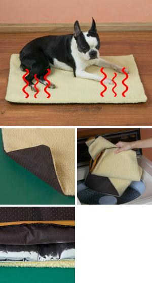 Small Self-Heating Pet Cushion