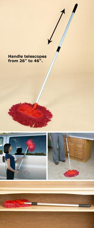 California Power Duster With Telescoping Handle Cleaning