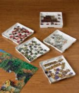 Stacking Jigsaw Puzzle Sorter Trays - Set of 8