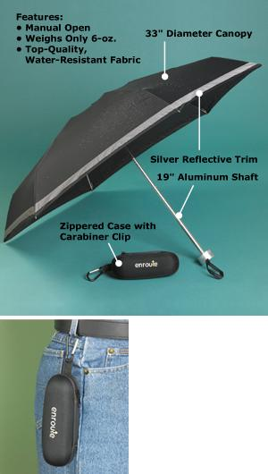 Reflective Travel Umbrella