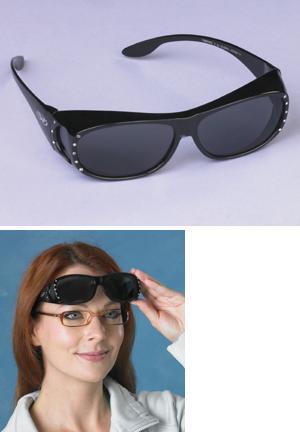 Wraparound Cover-Over Sunglasses