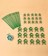 Gardening Tie and Clip Accessories - 51-Pc. Set