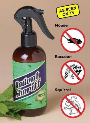 Rodent Sheriff - 8-oz. Spray Bottle