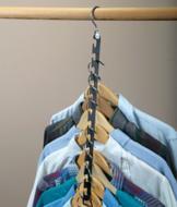 Space-Saving Hanger Wand