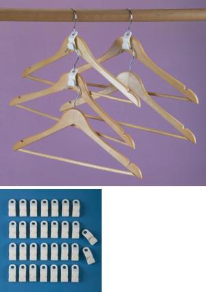 Hanger Connector Hooks - Pack of 30